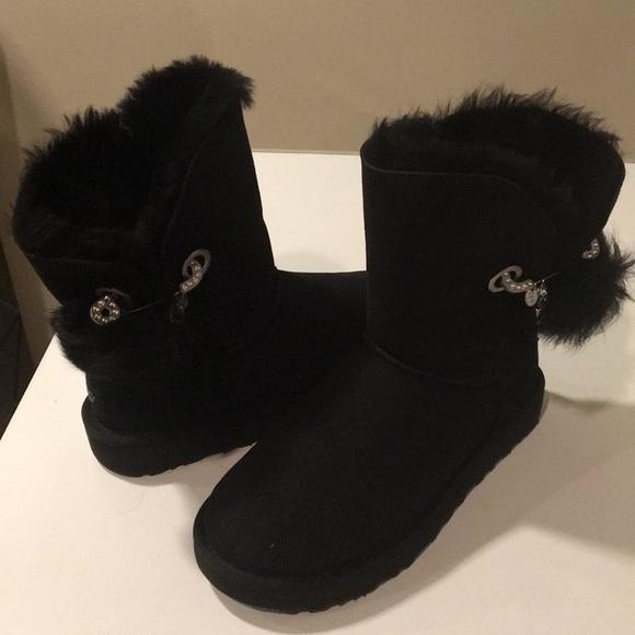 569256e9bf2 New Ugg Irina Safety Pin Swarovski Bailey boots ❤️ NWT
